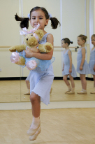 Melody Bear Ballet dancer