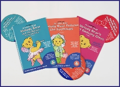 Melody Bear's book and CD series