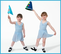 Photo of tap dancing children