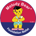 Foundation Ballet with Melody Bear logo
