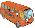 Graphic of Melody Bear's Fun Bus
