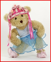 Melody Bear as a Russian dancer