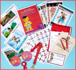Teaching syllabus for Melody Movement Early Learning Foundation Ballet CDs, stickers and medal awards