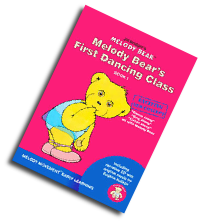 Graphic of Melody Bear's First Dancing Class Book & CD