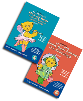 Graphic of Melody Bear and the Musical Instruments Book & CD